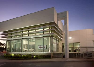 CERRITOS COLLEGE AUTOMOTIVE TECHNOLOGY BUILDING
